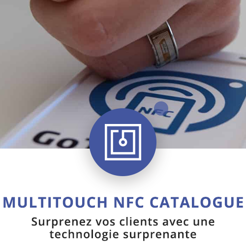 application tactile interactive nfc