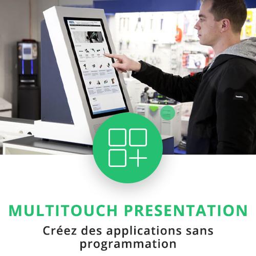 application tactile interactive presentation