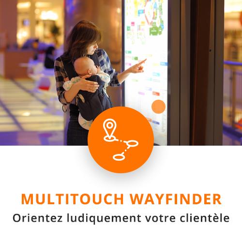application tactile interactive wayfinder