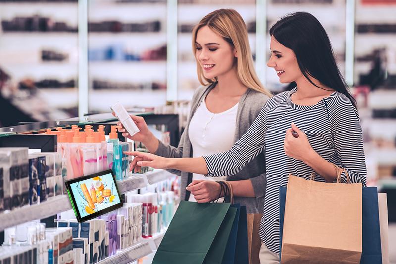 L'expérience shopping multicanal avec les bornes tactiles