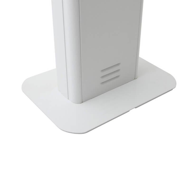 Borne interactive 22 pouces blanche