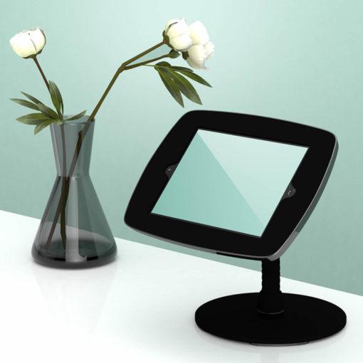 Support tablette tactile noir