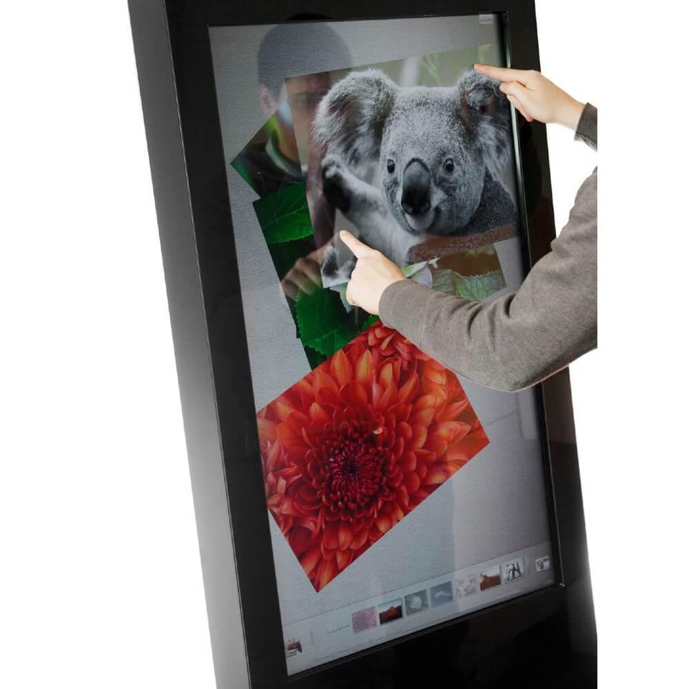 Borne interactive 22 pouces kiosk