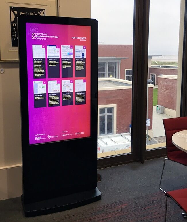 Borne interactive 22 pouces Android et Windows