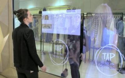 Le Motion Design s'installe dans les magasins